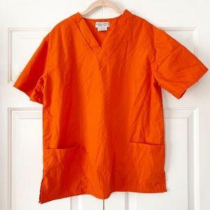 Scrub Halloween Prison Top Costume Size Small